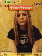 Avril Lavigne theme screenshot