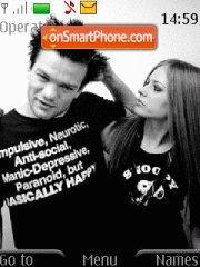 Avril & Deryck theme screenshot