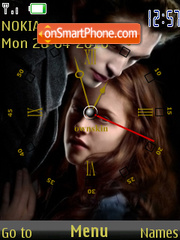 Twilight Clock theme screenshot