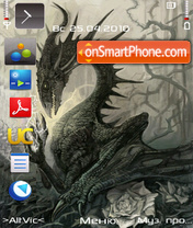 Dragon V1 by Altvic theme screenshot