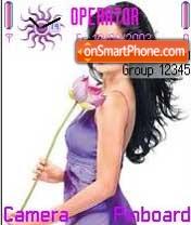 Purple Katrina theme screenshot