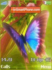 Butterfly 13 es el tema de pantalla