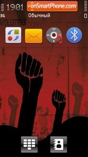 Revolution 01 es el tema de pantalla
