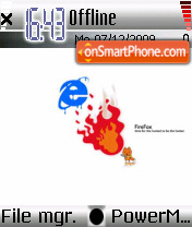 Firefox theme 02 theme screenshot
