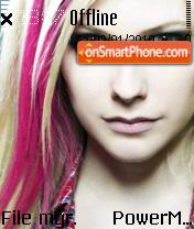 Avril Lavigne 05 es el tema de pantalla