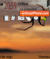 Spider 06 theme screenshot