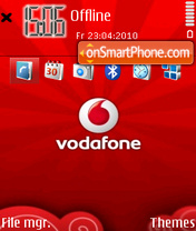 Vodafone 04 theme screenshot
