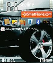 Range Rover theme screenshot