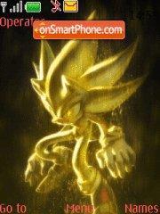 Mystic Sonic theme screenshot