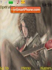 Guitarist theme screenshot