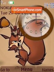 Bucky Clock theme screenshot