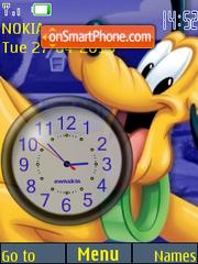 Скриншот темы Pluto Clock