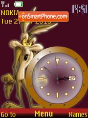 Coyote Clock es el tema de pantalla