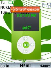 Скриншот темы Ipod Clock