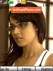 Genelia Chance theme screenshot