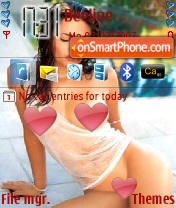 Angelina Jolie 04 theme screenshot