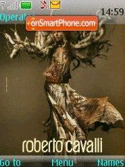 Roberto Cavalli theme screenshot