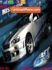Fast and Furious 06 tema screenshot