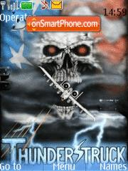 Скриншот темы ThunderStruck