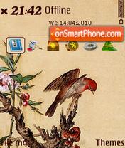 Peach 01 theme screenshot