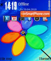 Flower 08 es el tema de pantalla