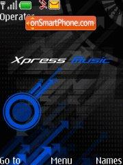 Xpress blue theme screenshot