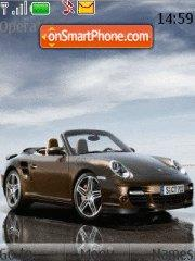 Porsche Turbo 01 tema screenshot