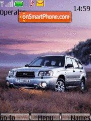 Subaru Forester 01 tema screenshot