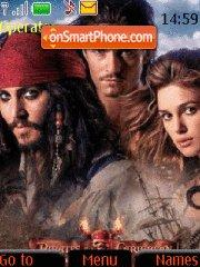 Pirates of the Caribbean 04 theme screenshot