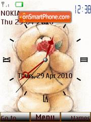 Forever Clock theme screenshot