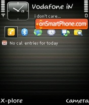Abstract lines by ishaque theme screenshot