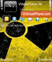 Radioactive v1.2 by ishaque theme screenshot