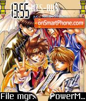 Gensomaden Saiyuki theme screenshot