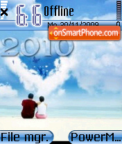 2010 theme theme screenshot