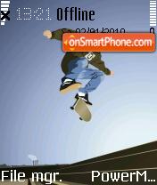 Backside Flip theme screenshot