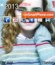 Скриншот темы Emma Watson 18