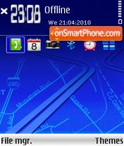 Скриншот темы Crossroads