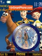 Скриншот темы Toy Story Clock