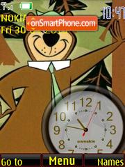 Yogi Bear Clock Theme-Screenshot