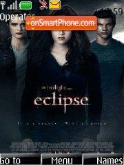 Twilight saga-Eclipse theme screenshot