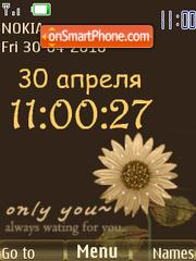 For You Clock theme screenshot