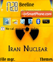 Iran Nuclear theme screenshot