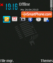 NokiaMobileTalk theme screenshot