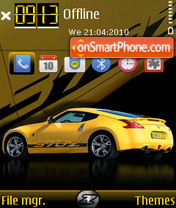 Nissan 370z Fp1 theme screenshot