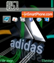 Addidas 01 theme screenshot