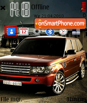 Range Rover Fp1 theme screenshot