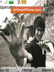 Bruce Lee A es el tema de pantalla
