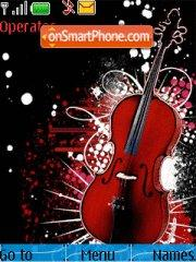 Cello Guitar 2010 theme screenshot