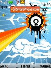 Creative Abstract Art theme screenshot