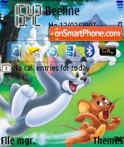Tom & Jerry theme screenshot
